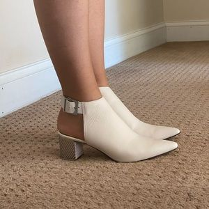 Slingback Calvin Klein Ankle Boots Booties sz 7.5